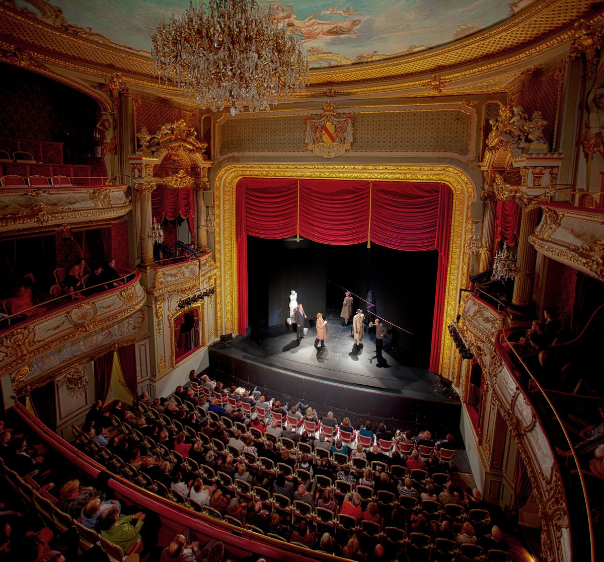 Das Theater in Baden-Baden